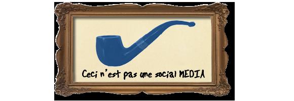 SOCIAL media not social MEDIA